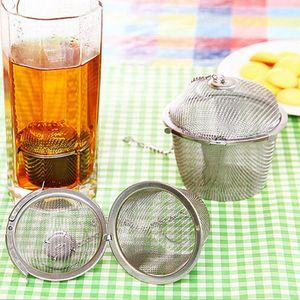 1 Stück Tee-Ei Farbe Tonnenform - Silber