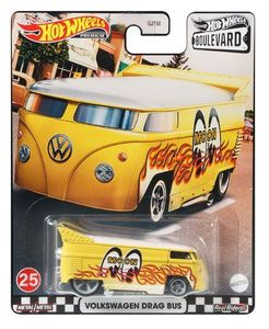 HOT WHEELS GRL93 Hot Wheels Premium Car Boulevard Volkswagen Drag Bus