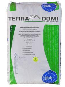 TerraDomi 25kg Ammonsulfatsalpeter N26 Stickstoff-Dünger - Profi Rasendünger mit Schwefel & Langzeitwirkung - Perfekt für Rasen Blumen Obst & Gemüse - Sorgt für Saftiges Grün & Starken Wuchs