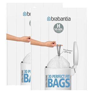 2x Brabantia Müllbeutel Spenderverpackung 50 l (H)30 Stück