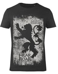 GOZOO Game of Thrones T-Shirt Herren Haus Lannister- Sigil, schwarz: M / Schwarz