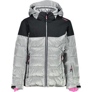 CMP Mädchen Skijacke Snaps Hood U303 SILVER 164