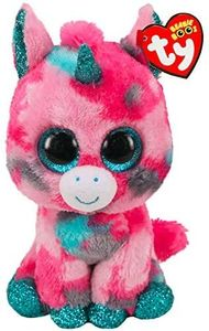 TY Beanie Boos Standard 15cm Size - Gumball The Pink Unicorn