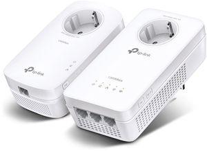 TP-LINK AV1200 1200 Mbit/s Eingebauter Ethernet-Anschluss WLAN Weiß 2 Stück(e)