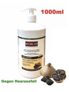 BIOBLAS Black Garlic Shampoo gegen Haarausfall geruchlos 1000ml #R1-C4