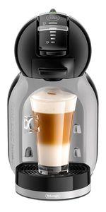 DeLonghi Mini Me EDG155.BG, Pad-Kaffeemaschine, 0,8 l, Kaffeekapsel, 1460 W, Schwarz, Grau