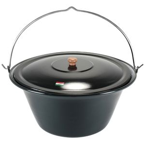 Grillplanet® Gulaschkessel 30 Liter mit Deckel