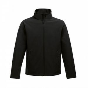Regatta Herren Softshell-Jacke Ablaze, bedruckbar RG3560 (2XL) (Schwarz)