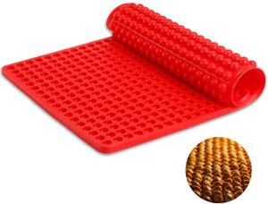 Silikon Backmatte - 1cm Halbkugel Silikonmatte mit Noppen