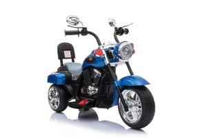Harley Trike Chopper Kindermotorrad Elektromotorrad Kinderfahrzeug MP3 Blau (TR1501)