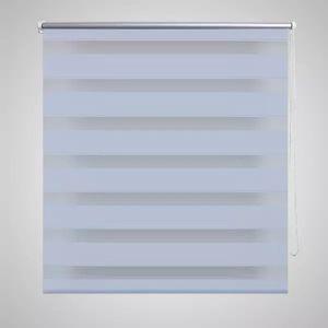 yocmall Doppelrollo Seitenzug 100 x 175 cm weiß