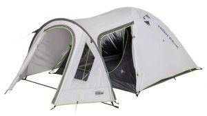 High Peak Kuppelzelt 3 Personen hitzeabweisend Campingzelt mit Vorbau UV 80 Sonnenschutz 3.000 mm wasserdicht Iglu-Zelt für Camping und Festival