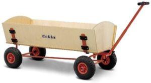 Eckla Bollerwagen - Ecklatrak-Xxl-Fun, Länge Ca. 120 Cm  Mit Hinterachslenkung Und Pannensichere Bereifung 77870