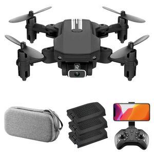 LS-MIN Mini-Drohne mit Kamera 4K RC Quadcopter 13 Minuten Flugzeit 360 ¡ã Flip-Geste Foto Video Track Flugh?he Halten Headless Fernbedienung Drohne fš¹r Kinder Erwachsene 3 Batterie