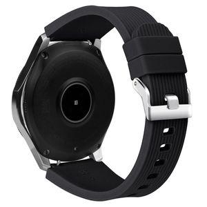 Armband für Samsung Galaxy Watch 46 mm - schwarz - L