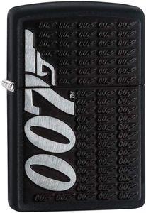 ZIPPO ® Feuerzeug 60004297 James Bond 007 Emblem black matte