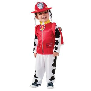 Rubies - Jungen Marshall-Kostüm aus PAW Patrol - Rot - S (3-4 Jahre)