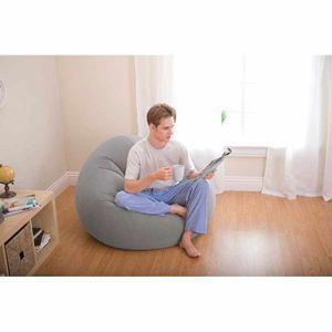 Intex 68579 aufblasbarer Sitzsack Sessel, 69x 104 x107 cm, 2,5 kg, Modelle: 68579,Wasserdicht