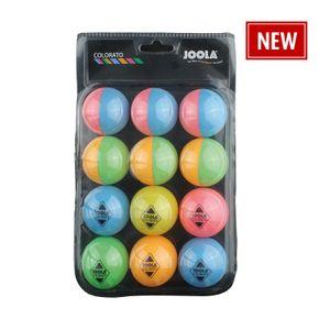 JOOLA Tischtennis-Bälle Colorato