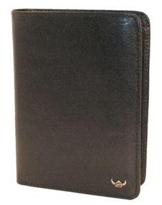 Golden Head Colorado RFID Protect Billfold Coin Wallet Black