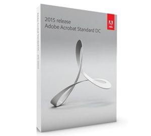 Adobe Acrobat Standard DC 2015 - Box-Pack - 1 Benutzer - DVD - Win - Englisch