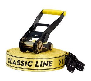 Gibbon Slackline Set Classic X13 gelb 13840