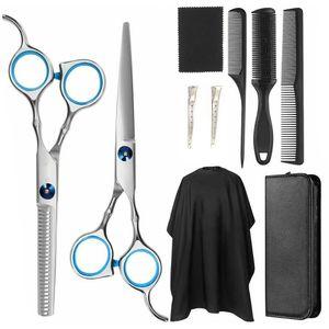 Professionelles Haarschneiden Haarschere Friseurhaar Ausdünnende Schere Friseur Schere Friseur Werkzeugsatz