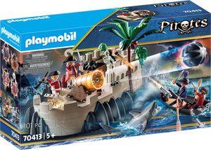 Playmobil, Rotrockbastion, Pirates, 70413