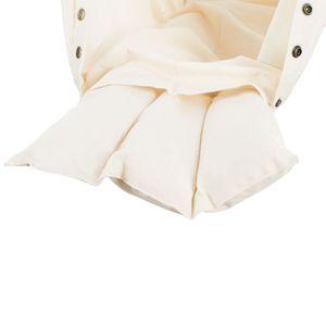 NONOMO® Matratze Kleinkind Schafwolle für Federwiege - natur