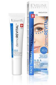 dermoREVITAL S.O.S. Expressbehandlung gegen Augenringe und Schwellungen, 15 ml