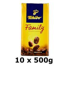 GroßhandelPL Tchibo Family Kaffee geröstete Bohnen 10x500g