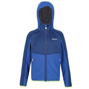 Regatta Kinder Bracknell II Softshell Jacke RG5068 (164) (Mittelblau)