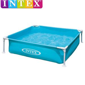 Intex Mini Frame Pool Kinderpool | 122 x 122 x 30 cm | Planschbecken | 57173NP