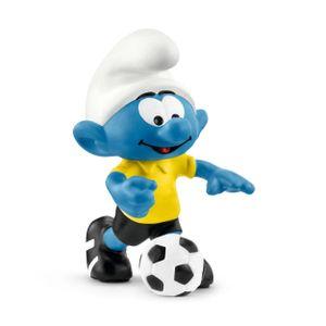Schleich Spielfigur Fußball Schlumpf mit Ball
