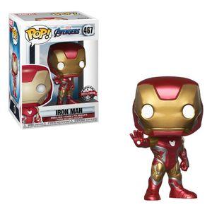 Funko Pop Marvel Avengers End Game Iron Man + Pop Protector