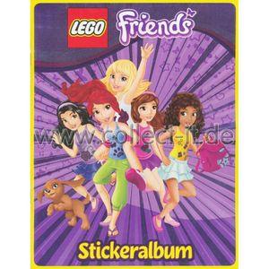 Blue Ocean - LEGO Friends - Sammelsticker - Album