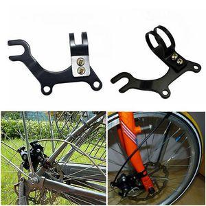 Einstellbare Fahrrad Scheibenbremse Halterung Rahmen Adapter Radfahren Halterung Neu@# 31.8mm
