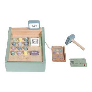 Little Dutch Holz Spielkasse Holzkasse mit Scanner – Adventure mint