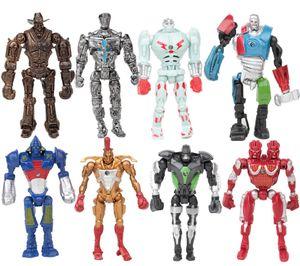 8 Stück Real Steel Robot Adam Figur Spielzeug Kinder Geschenk