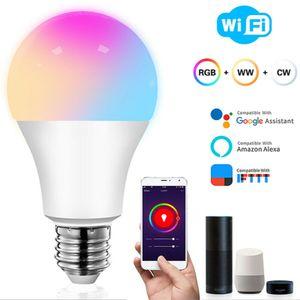 Smart Life WiFi RGB LED Licht Dimmer Lampe Bluetooth WiFi Control Nachttischlampe Nachtlicht Nachtlampe Leuchte Amazon Alexa Google für iOS Android