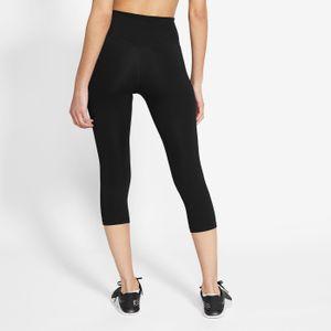Nike W Nk One Df Mr Cpri Tgt 010 Black/White Xxl