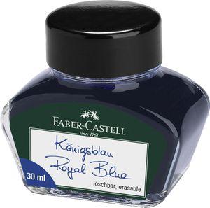 FABER-CASTELL Tinte im Glas königsblau Inhalt: 30 ml