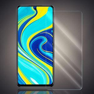 Panzer Folie für Xiaomi Redmi Note 9s/Redmi Note 9 Pro Echt Glas Display Schutz Folie Glasfolie 9H Härtegrad Schutzglasfolie