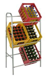 Flaschenkastenständer Getränkekistenständer Kastenständer Getränkekistenregal