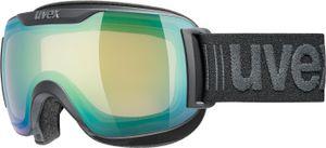 UVEX Skibrille Snowboardbrille Schneebrille DOWNHILL 2000 S V, black mat