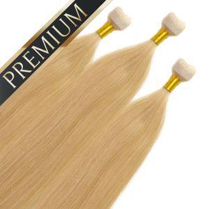 Premium Mini Tape Extensions, Farbe:#22, Länge:40cm