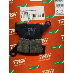 BREMSBELAG für KTM 640 ccm LC4-E 640 Supermoto, Bj.03-06, HINTEN LUCAS