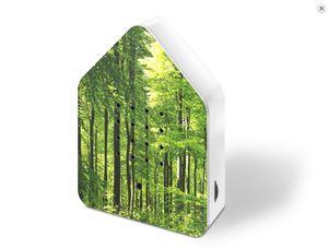 Zwitscherbox - Waldmuster Grün