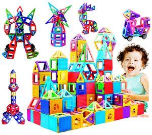 infinitoo Magnetische Bausteine 146Pcs 3D Macaron Lernen 3+ Kinder Baukasten
