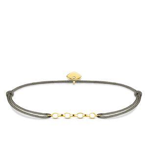 Thomas Sabo LS065-848-5 Armband Little Secret Herz Gold-Ton Silber
